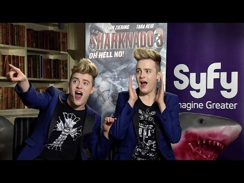 SyFy UK – Jedward announce Sharknado 3: Oh Hell No!