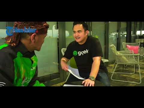 Press conference rebranding Gojek