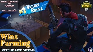 WIN FARMING || *GIVEAWAY* NEW COBALT STARTER PACK || Fortnite Live Stream India ||