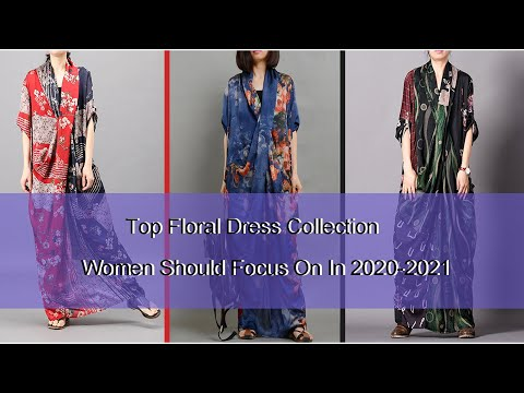 floral-maxi-dresses:-top-dress-collection-women-should-focus-on-in-2020-2021