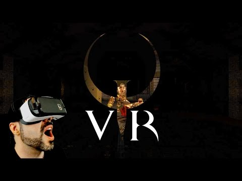 Quake VR Gameplay - Galaxy Gear VR (Quake like you've never played it before!)
