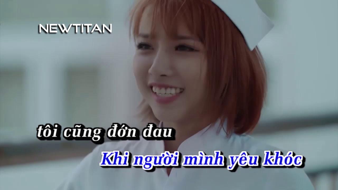 [Karaoke] Khi Người Mình Yêu Khóc - Phan Mạnh Quỳnh [Beat]
