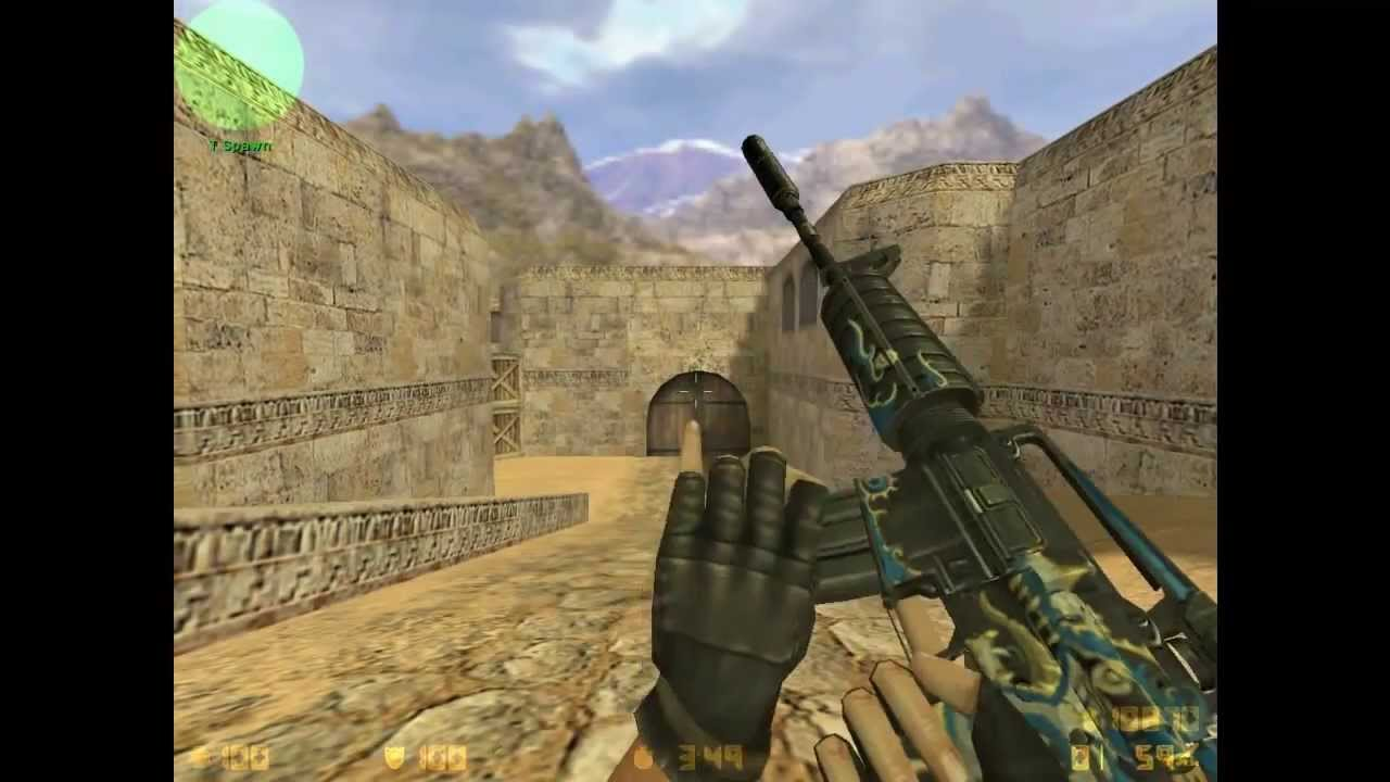 Counter-strike 1. 6 dragon skins +download youtube.