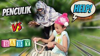 Download Mp3 Bayi Lucu Vs Orang Asing 😄 Drama Parodi Aqilla's Diary