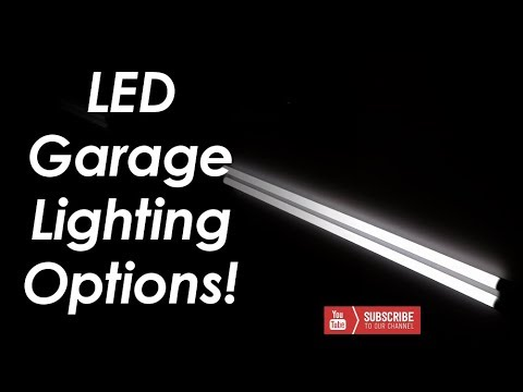 Led Garage Lighting Options