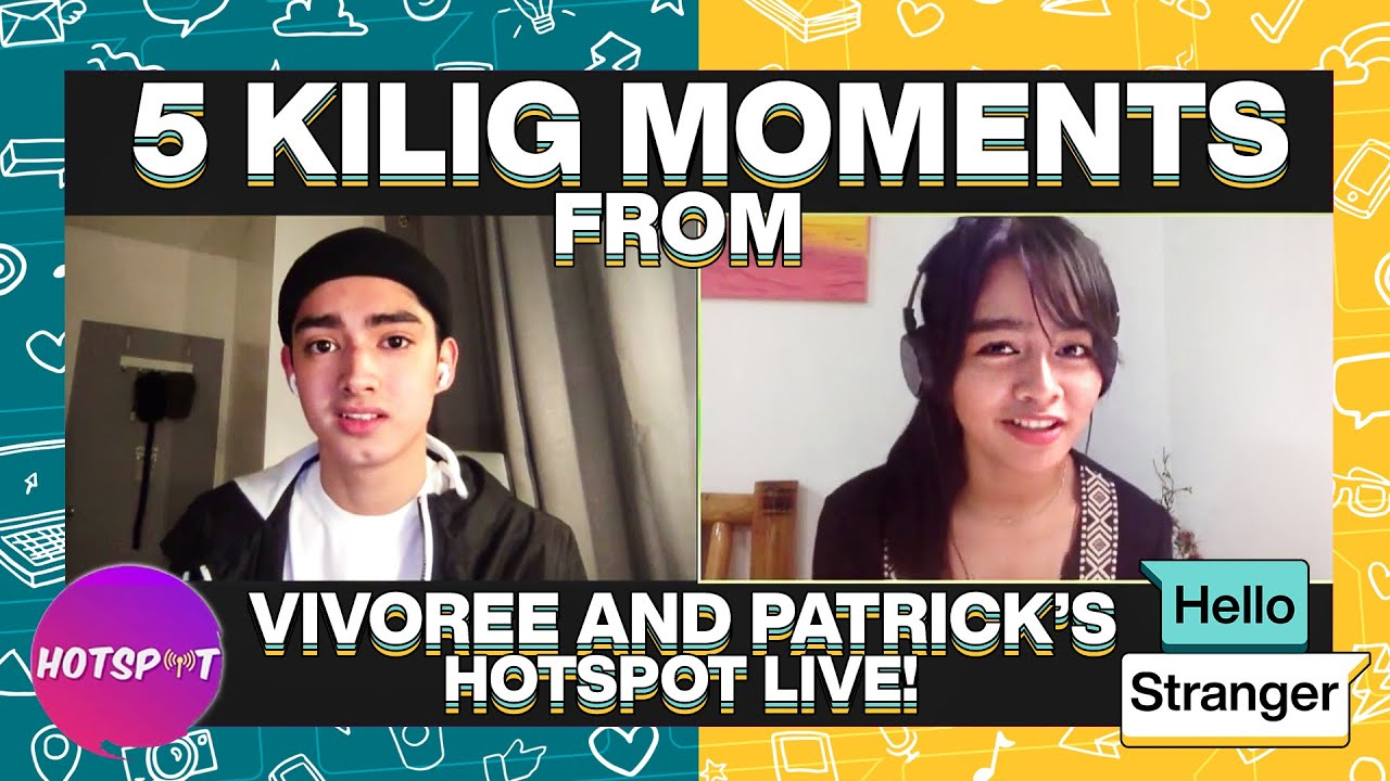 5 Kilig Moments from Vivoree and Patrick's Hotspot Live!