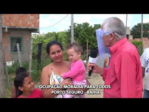 Famílias ameaçadas de despejo - Porto Seguro-Bahia