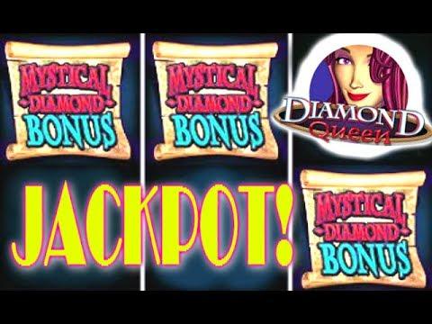 ♦ JACKPOT DIAMOND QUEEN ♦ Live Play HIGH LIMIT ♦ Max Bet 5 Treasures