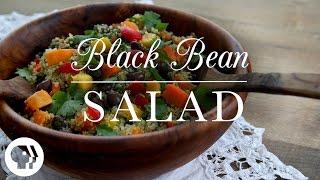 Black Bean Quinoa Rainbow Salad | Kitchen Vignettes | Pbs Food