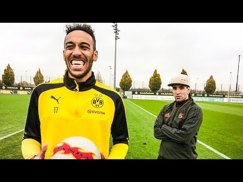 AUBAMEYANG : CAN A FOOTBALLER BE A FREESTYLER?