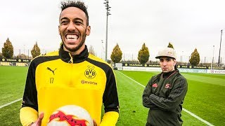 AUBAMEYANG : CAN A FOOTBALLER BE A FREESTYLER? #1