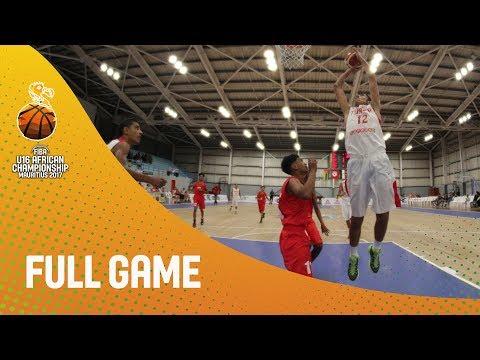 Tunisia v Mauritius - Full Game - FIBA U16 African Championship 2017