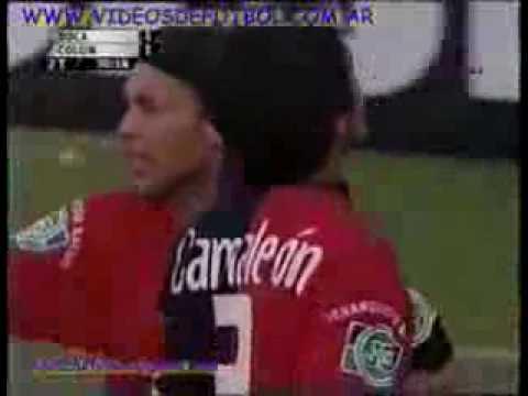 """Golazo de Juan Manuel """"El loco"""" Vargas a Boca"""