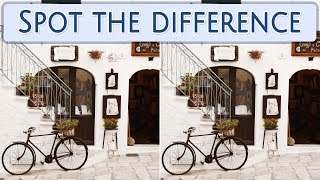 [ Brain games ] ( 3 ) Ep.014 Transport_etc._bicycle_01 | Spot the difference | photo puzzles