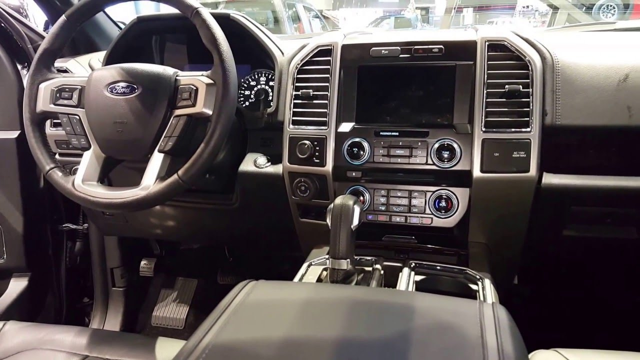Ford F 150 Platinum Interior >> 2016 Ford F 150 Platinum Interior 2016 Chicago Auto Show