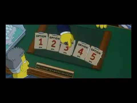 Simpsons Schwartzenegger Youtube