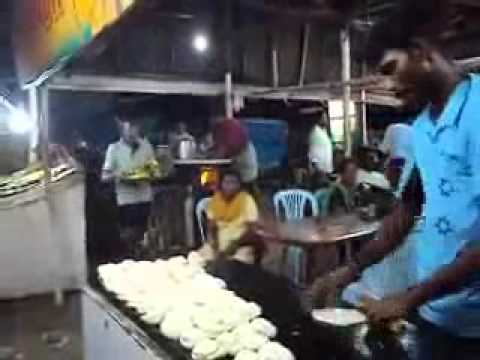Indian Fast Food Roti Making Assembly Line