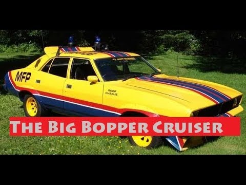 7:16 PAPERCRAFT  Mad Max's Big Bopper Police Cruiser [Part 1]