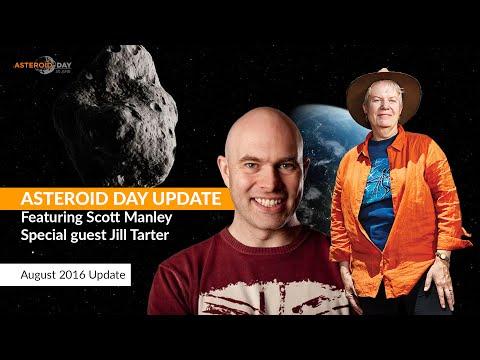 Asteroid Update - Jill Tarter from SETI Institute - August 2016
