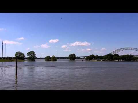Memphis Flood 46 35 feet  Riverside Drive