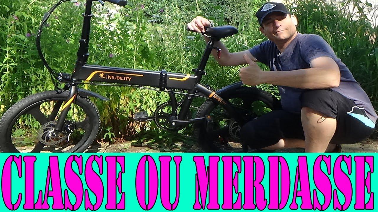 Mise en route vélo électrique niubility b20