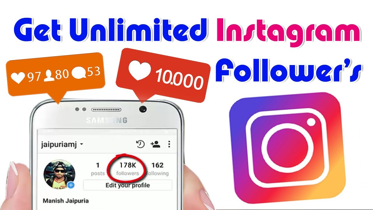 how to get free insta followers glitch 2017