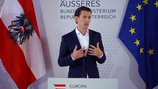 Sebastian Kurz will vorgezogene Neuwahlen - das ganze Statement
