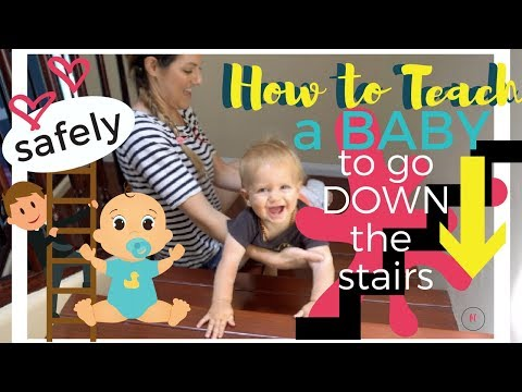 When Can My Child Start Walking up Stairs