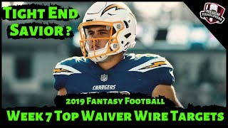 2019 Fantasy Football Rankings - Week 7 Top Waiver Wire Players To Target