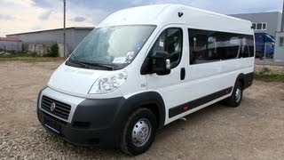 2013 Fiat Ducato. Start Up, Engine, And In Depth Tour.