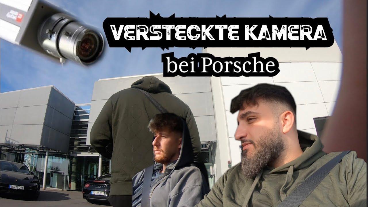 Mit versteckter Kamera im Porsche Zentrum // Porsche Panamera 4s Spoiler defekt...