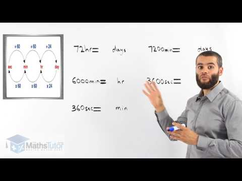 42.  Converting Units of Time