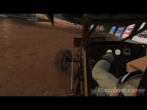 Troy Wagaman Williams Grove Speedway iRacing