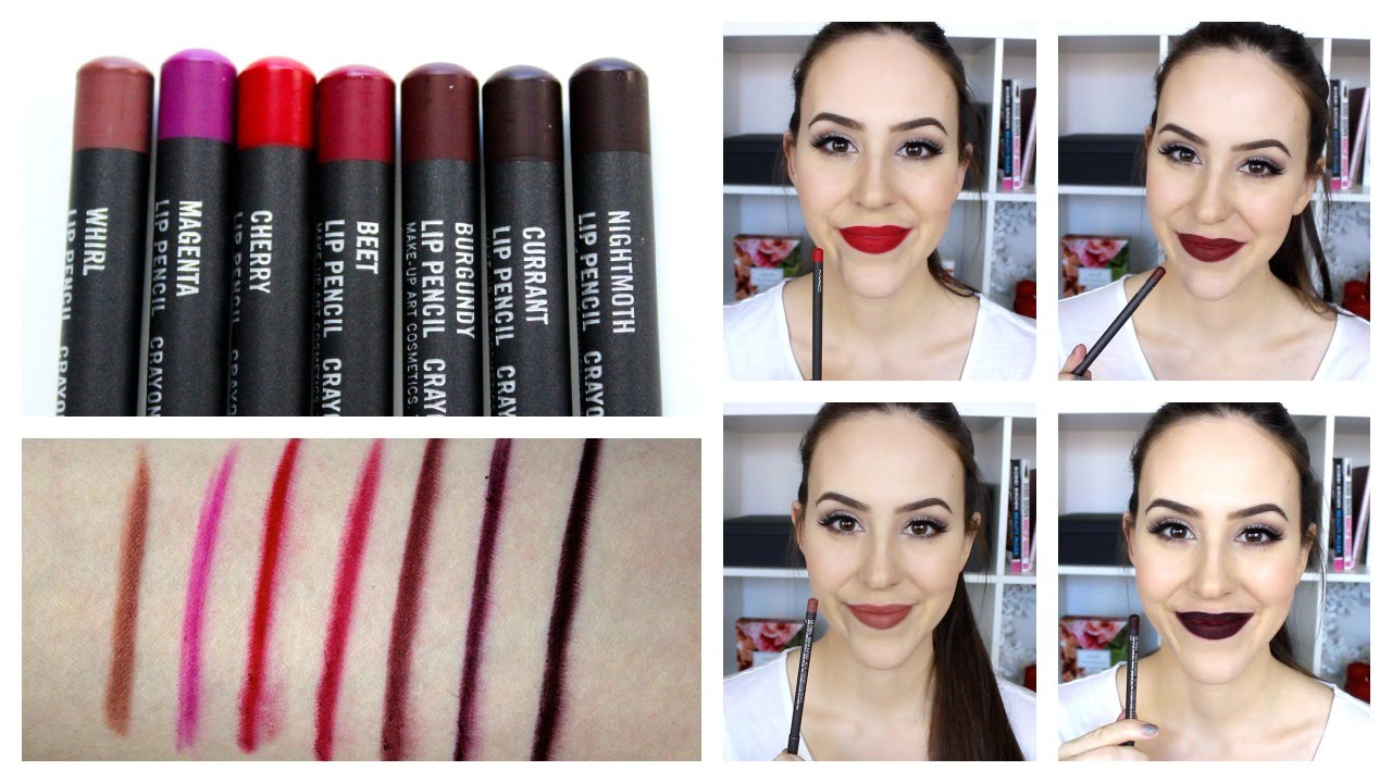 spesso Mac Lip Liners + Lip Swatches - Favorite Combos with Mac Lipsticks  DJ55