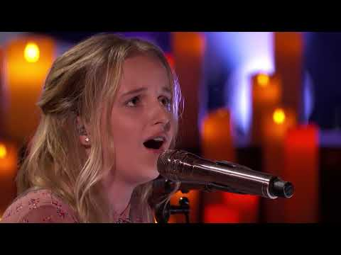 Evie Clair  13 Year Old Sings Moving Rendition of Wings   America's Got Talent 2017