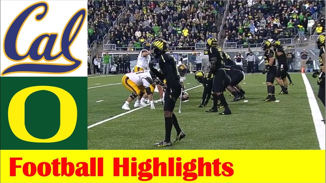 Download California vs #9 Oregon Football Game Highlights 10 16 2021