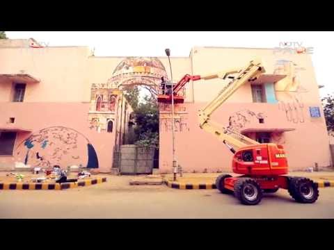 Colour My City: Artistry, Architecture & Street Art with Artists Gaia and Ullas Hydoors (Episode 7)