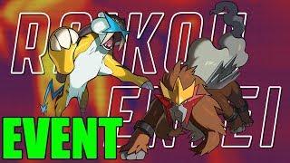 Raikou & Entei Legendary Pokemon Event FINALLY ANNOUNCED!