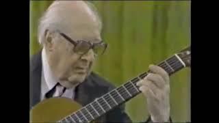 Andres Segovia Live Concert 1979