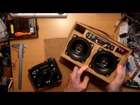how to: build DIY 100W Bluetooth Speaker - 114dB Loud