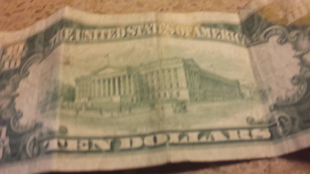 SUPER RARE FIND 10$ BILL 1950 C SERIES - YouTube