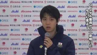 ソチオリンピックのフィギュアスケート男子シングルで金メダルを獲得し...