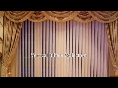 Vertical Blinds Collection-Display
