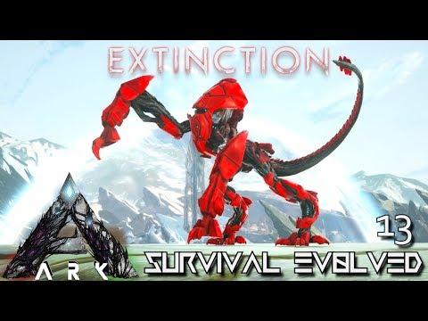 ARK: EXTINCTION - ALPHA ENFORCER & TITAN FEEDING MOD !!! | ARK SURVIVAL EVOLVED E13