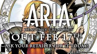ARIA HEAVENLY CREATURES ONE-SHOT CVR A ANACLETO 2021 IMAGE COMICS 2//17//21 NM