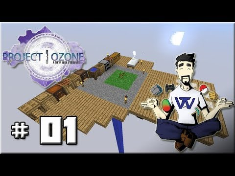 Project Ozone 3 - Ep 01 : En mode Skyblock !!