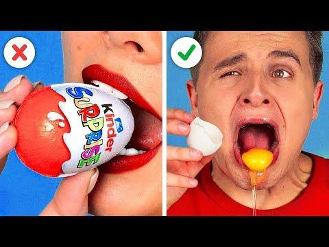 WYZWANIE - CZEKOLADA VS PRAWDZIWE PRZEDMIOTY || Śmieszne Pranki!! Test Smaków Od 123 GO! CHALLENGE