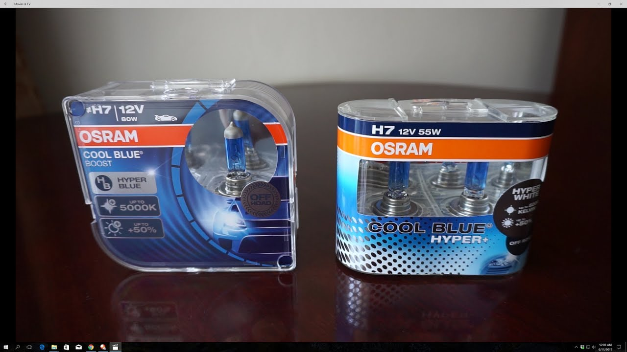osram cool blue boost 5000k vs cool blue hyper 5000k. Black Bedroom Furniture Sets. Home Design Ideas