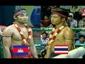Sim vandet Vs chhat pichhit [Thai], Seatv Boxing, 13 Jan 2018, Khmer boxing