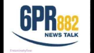 Ross Lyon on 6PR - 29/7/13